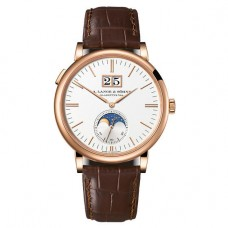 A. Lange & Sohne Saxonia Moon Phase 40mm Mens Watch 384.032 Imitation