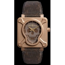 Bell & Ross BR 01 SKULL BRONZE Imitation