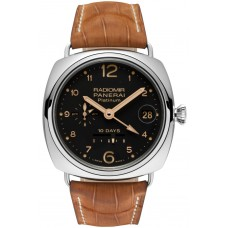 Panerai Radiomir 10 Days GMT Automatic Platino PAM00495 Imitation