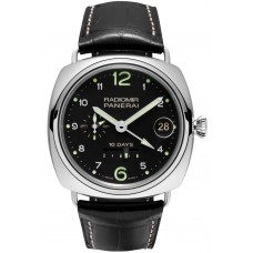 Panerai Radiomir 10 Days GMT Automatic Oro Bianco PAM00496 Imitation