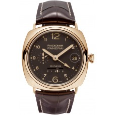 Panerai Radiomir 10 Days GMT Automatic rose gold PAM00497 Imitation