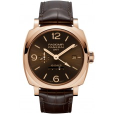 Panerai Radiomir 1940 10 Days GMT Automatic rose gold PAM00624 Imitation