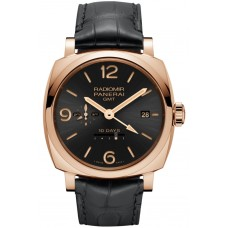 Panerai Radiomir 1940 10 Days GMT Automatic rose gold PAM00625 Imitation