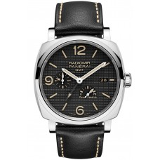 Panerai Radiomir 1940 3 Days GMT Automatic Steel PAM00627 Imitation