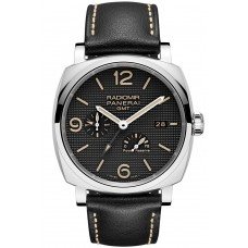 Panerai Radiomir 1940 3 Days GMT Power Reserve Automatic Steel PAM00628 Imitation
