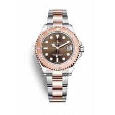 Rolex Yacht-Master 37 Everose gold Chocolate Dial m268621-0003