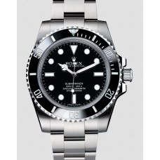 Rolex Submariner No Date Stainless Steel Black Dial 114060 Replica