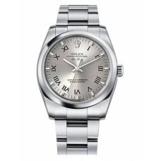 Rolex Air-King Domed Bezel 114200 Silver dial Replica