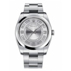 Rolex Oyster Perpetual 116000 No Date Steel Silver dial replica