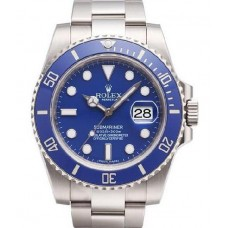 Rolex Submariner Date Blue Bezel and Dial 116619LB Replica