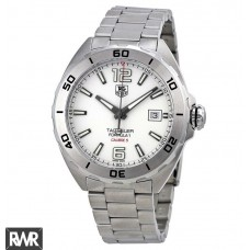 Tag Heuer Formula 1 Automatic White Dial Stainless Steel Mens WAZ2114.BA0875 replica watch