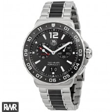 Tag Heuer Formula 1 Anthracite Dial Chronograph Steel and Ceramic Mens WAU111C.BA0869 replica watch