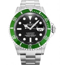 Rolex Submariner 50th Anniversary Green Bezel 16610LV Replica