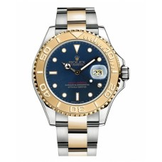 Rolex Yacht-Master Stainless Steel and Yellow Gold Bluel dial 16623 B Replica