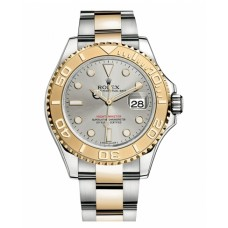 Rolex Yacht-Master Stainless Steel and Yellow Gold Grey dial 16623 G Replica