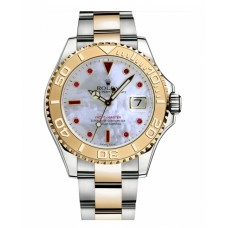 Rolex Yacht-Master Stainless Steel and Yellow Gold Mother of pearl dial 16623 MR Replica