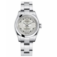 Rolex Oyster Perpetual No Date Silver dial 176200 Ladies watch Replica
