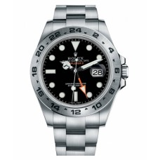 Rolex Explorer II Stainless Steel Black dial 216570 BK  Replica