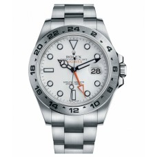 Rolex Explorer II Stainless Steel White dial 216570 W Replica