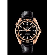 Omega Seamaster Planet Ocean Rose Gold Replica Watch 222.63.42.20.01.001