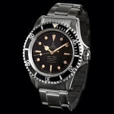 Replica Tudor OYSTER PRINCE SUBMARINER SQUARE CROWN GUARDS 7928 black unisex Watch