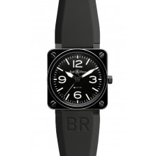 Bell & Ross BR 01-92 Black Ceramic Automatic 46mm Mens Replica Watch