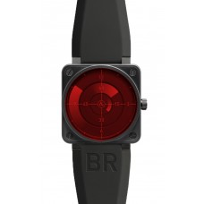 Bell & Ross BR 01 Red Radar Automatic 46mm Mens Replica Watch