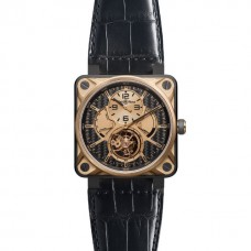 BELL & ROSS BR 01 TOURBILLON PINK GOLD