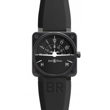 Bell & Ross BR 01 Turn Coordinator Flight Intruments Mens Replica Watch