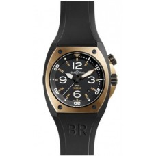 Bell & Ross BR 02-92 Pink Gold & Carbon Mens Replica Watch