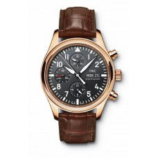 IWC Classic Pilots IW371713 Chronograph Automatic Rose Gold Replica