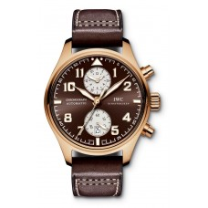 IWC Classic Pilots IW387805 Chronograph Automatic Edition Antoine de Saint-Exupery Rose Gold Replica