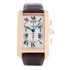 Cartier Tank Americaine Mens Watch W2609356