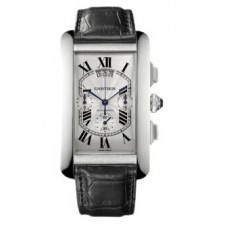 Cartier Tank Americaine Mens Watch W2609456