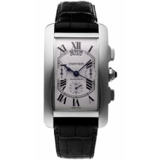 Cartier Tank Americaine Mens Watch W2610651