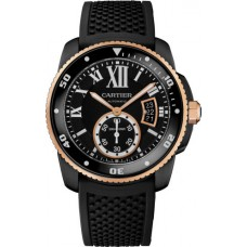 Calibre de Cartier Carbon Diver watch W2CA0004