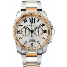 Calibre De Cartier Chronograph Mens Watch W7100042