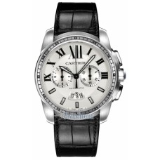 Calibre De Cartier Chronograph Mens Watch W7100046