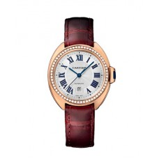 Cartier Cle Flinque Dial Ladies Watch