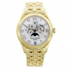 Patek Philippe Annual Calendar Moonphase White Dial 5036-1J