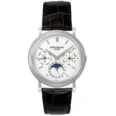 Patek Philippe Annual Calender Moonphase White Dial 5039G