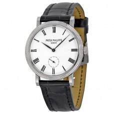 Patek Philippe Calatrava 31mm Mechanical White Dial 7119G-010