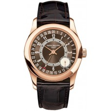 Patek Philippe Calatrava Brown Dial 18K Rose Gold 6000R-001