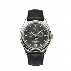 Patek Philippe Complications Automatic Moonphase Black Dial 5146P-001