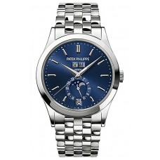Patek Philippe Complications Blue Dial 18k White Gold 5396-1G