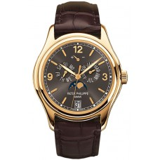 Patek Philippe Complications Grey Dial 18kt Yellow Gold 5146J-010