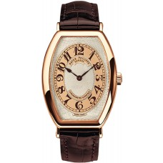 Patek Philippe Gondolo Silver Brown Dial 18kt Rose Gold Brown Leather 5098R