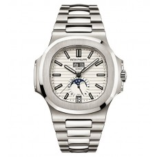Patek Philippe Nautilus Silver Dial Stainless Steel Mechanical 5726-1A-010