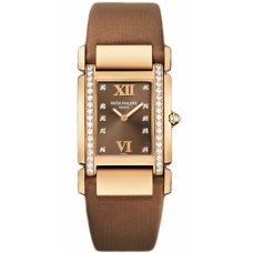 Patek Philippe Twenty 4 Diamond Brown Dial Rose Gold Ladies 4920R/001