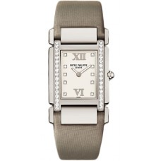 Patek Philippe Twenty 4 Diamond White Dial White Gold Ladies 4920G/010